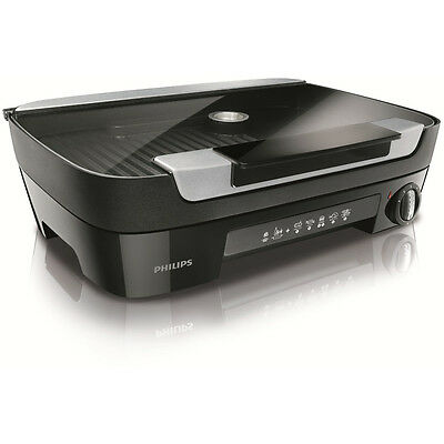 Philips Avance Collection HD6360 / 20 Table Grill Black GENUINE NEW