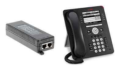 Avaya 9608 VOIP Telephone 700480585 with POE Injector 700500725