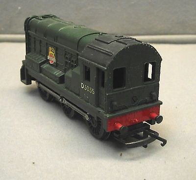 TRI-ANG OO Shunter 0-6-0 Diesel British Railways D3035 Excellent