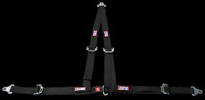 "Rjs Racing 2"" Buggy Off Road Seat Belt 3 Point B&t V Harness Black 50520 4000101"
