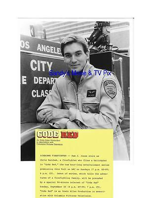 SAM JONES Fantastic ORIGINAL TV Photo CODE RED