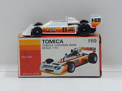 1:51 Tomica Chevron BMW with Decal Sheet - Made in Japan Tomica F69