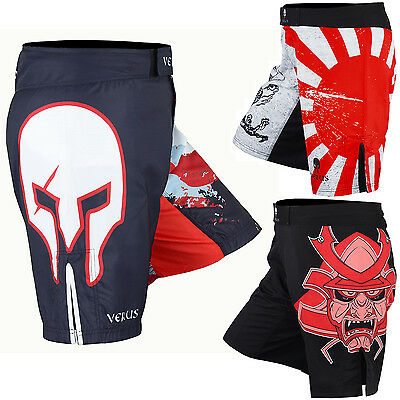 VERUS MMA Shorts BJJ Grappling UFC Cage Fight Gear Muay Thai Kick Boxing Shorts