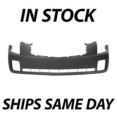 NEW Primered - Front Bumper Cover Fascia for 2003-2007 Cadillac CTS Sedan 03-07