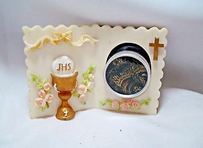 Lovely Small Book Style Reliquary Display