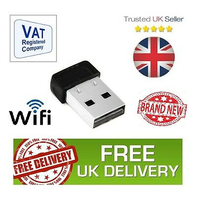 WiFi Wireless USB Adaptor Fast 150mbps Dongle 802.11n/g/b NEW