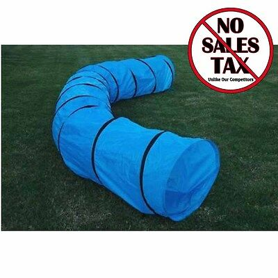 Dog Agility Equipment Training Open Tunnel Pet Exercise Run Outdoor Puppy Case