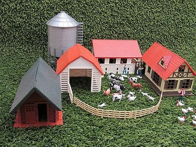 NewRay Farmhouse 4 Building,Construction set,G Scale and 1 gauge Garden railway