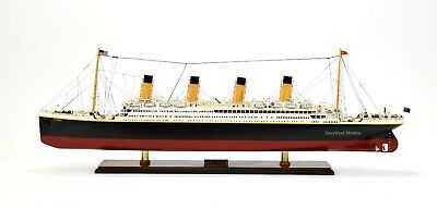 RMS Titanic White Star Line Cruise Ship Handmade Ship Model 40""