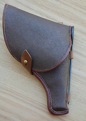 Original USSR Soviet Red Army M1895 Nagant Revolver Holster Accessories & Marked