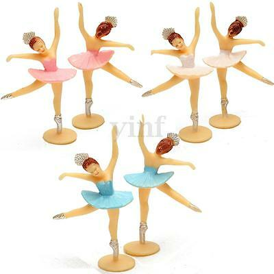 12/24X Dancing Girl Christening Baby Shower Favor Gift Birthday Party Decoration