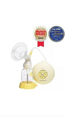 Medela Swing Single Electric Breast Pump - Medium Size With Calma Free Inside