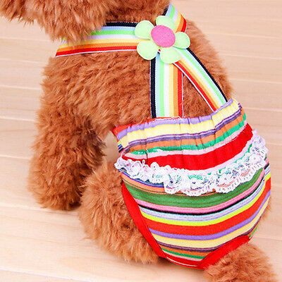 Female Pet Dog Puppy Diaper Pants Physiological Suspender Braces Sanitary Panty