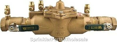 "Watts 2"" 009M2-QT Reduced Pressure Zone Backflow Preventer 0063010 RPA"