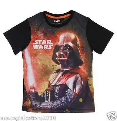 Star Wars Darth Vader Black T-shirt Bambino Originale Lucas EP1456