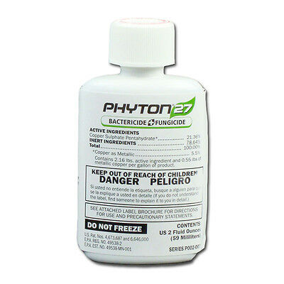 PHYTON 27 - 2 oz. - SYSTEMIC BACTERICIDE & FUNGICIDE