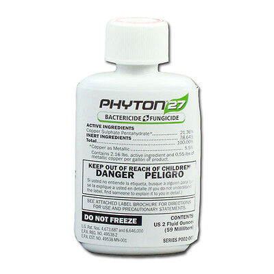 PHYTON 27 BACTERICIDE & FUNGICIDE 2oz. Bottle