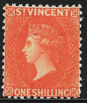 St.Vincent stamps 1883 SG 45x Wmk Reversed signed Brun  MLH  VF