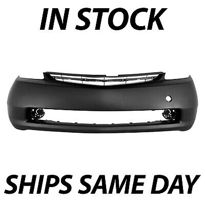 NEW Primered - Front Bumper Cover Fascia for 2004-2009 Toyota Prius Sedan 04-09