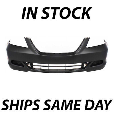 NEW Primered - Front Bumper Cover Fascia for 2005 2006 2007 Honda Odyssey Van