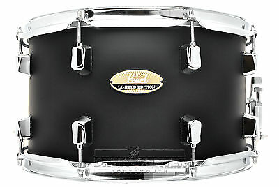 Pearl Limited Edition Maple Snare Drum 14x8 Satin Black - LMP1480S/C227