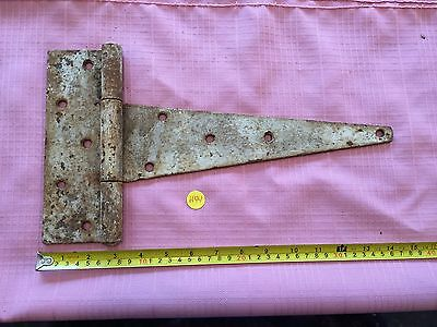 Vintage Heavy Duty Barn Gate Hinge Hardware Old Paint Rustic Farm Find