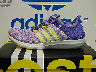 e3fce7ebcd7f15 NEW ADIDAS CLIMACHILL Cosmic Boost Women s Running Shoes - Purple white   B34347 -  57.77