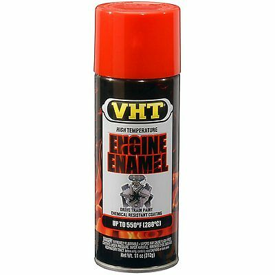 Duplicolor SP119 VHT Chevrolet Orange Red Motor Engine Spray Paint Aerosol