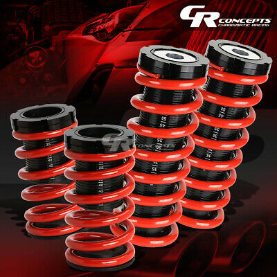 "Lowering 1-3""adjustable Scale Coilover+Red Coil Springs For 00-05 Eclipse 3G"