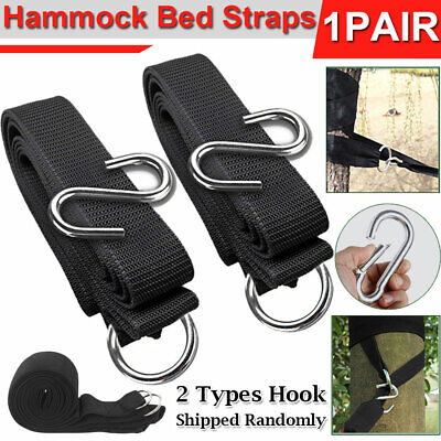 Garden Hammock Strap Strong Air Chair Hanging Swinging Camping Outdoor Belt New