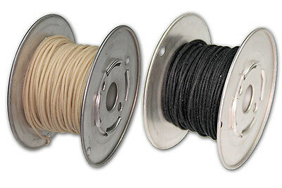 Vintage Cloth Covered Hook-Up Wire For Guitars And Amplifiers - Stranded