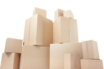 NEW 20 X LARGE Cardboard House Moving Boxes Removal Packing Box