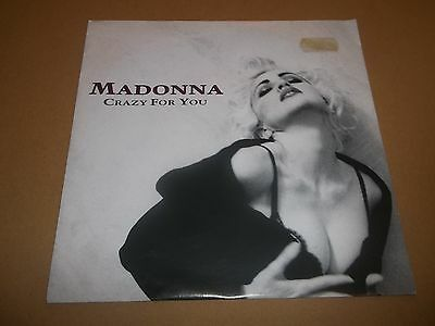 "Madonna "" Crazy For You "" 7"" Single P/s Ex+ / Ex 1991"