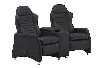 2er cinema sessel sportoptik relaxfunktion stauraum cup. Black Bedroom Furniture Sets. Home Design Ideas