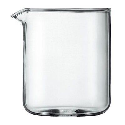 Bodum Spare Glass Liner For 4 Cup French Press Coffee Maker, 0.5L