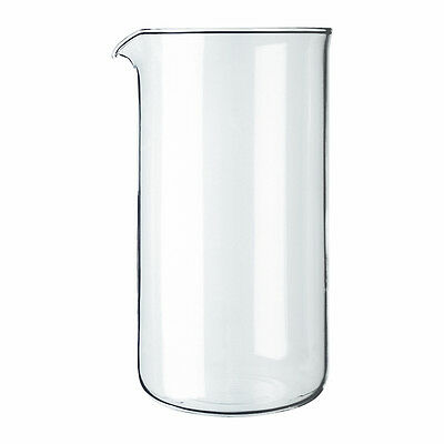 Bodum Spare Glass Liner For 3 Cup French Press Coffee Maker