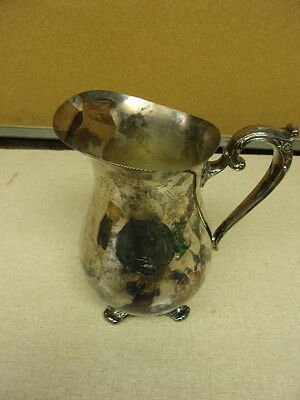 WM Rogers Silver Plated Pitcher, Fancy handle *FREE SHIPPING*