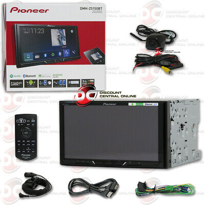 "Pioneer Avh-X390Bs Double Din 6.2"" Car Dvd Cd Bluetooth + Keyhole Camera Black"