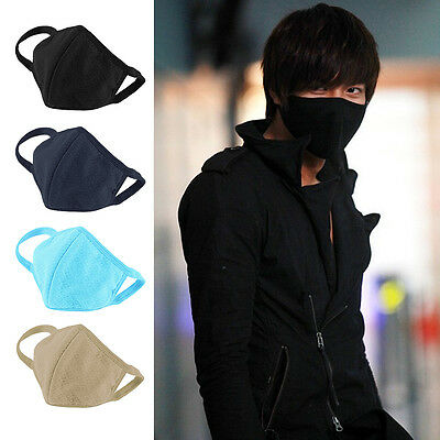 Women's Mens Mouth Face Mask Healthy Anti-Dust Cotton Cycling Sports Respirator