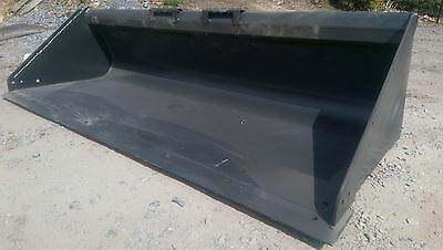 """New Extreme Heavy Duty 78"""" Skid Steer Bucket for Bobcat, Case, CAT & more-6 1/2'"""
