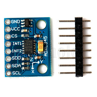 ADXL345 3-Axis Digital Acceleration of Gravity Tilt Module GY-291 for Arduino DT
