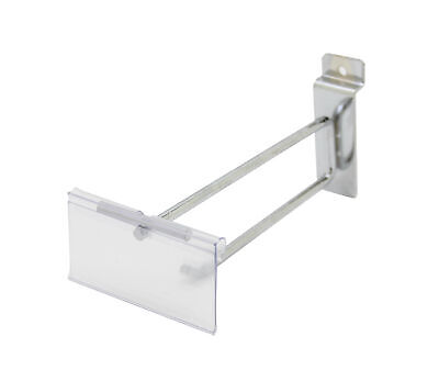 10 Pack of 6 inches Slatwall Scanner Hook Retail Store Price Display 15827