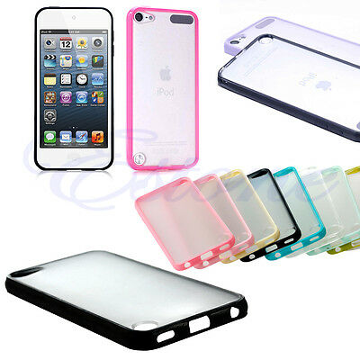 Hot Sell  Matte Hard Back Silicone Case Cover for Apple iPod touch 5 6