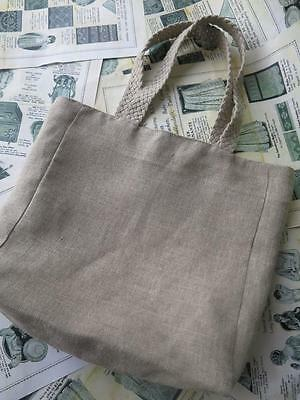 Sajou 32 Count Linen Tote Bag to Embroider