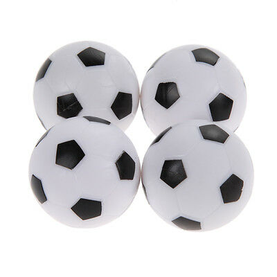 4x 36mm Indoor Soccer Table Foosball Replacement Ball Football Fussball Futbol