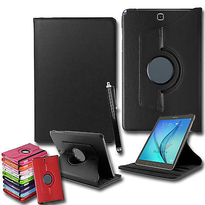 "Leather 360° Rotation Smart Stand Case Cover Samsung Galaxy Tab A 9.7"" T550 P550"