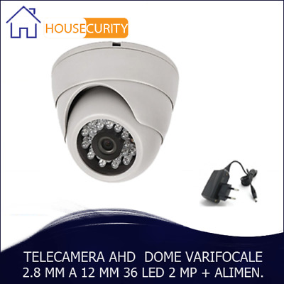 Telecamera Ahd Varifocale 2.8 A 12 Mm Dome 36 Led 2 Mp 1/3 Sony