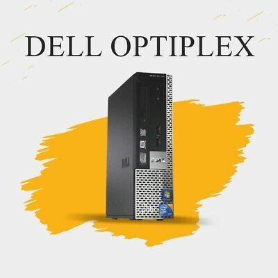 CHEAP FAST DELL OPTIPLEX 780 USFF Intel  Dual Core 4GB RAM 160 GB HDD Win 7 WIFI