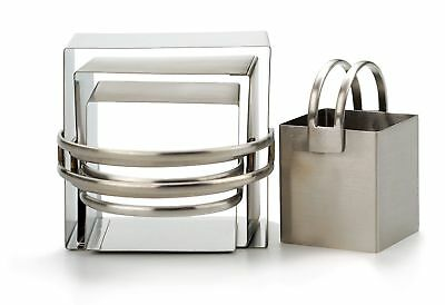 RSVP Square PASTRY CUTTERS Set of 4 Nesting Stainless Steel Biscuit Cookie Jello