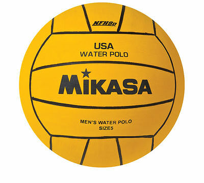 Mikasa USA Water Polo Approved Ball, Official Size 5-NFHS Approved-Yellow